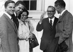 Walther Sommerlath den äldre, med glasögon, var en aktiv nazist. Det framgår med all tydlighet av Johan Åsards bok
