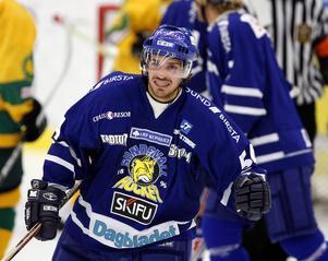 Österholm i Sundsvall Hockeys tröja.