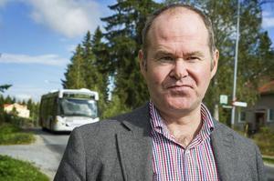Christer Lundberg i Bonäset vill att stora vägen i området ska bli trafiksäkrare för barn.