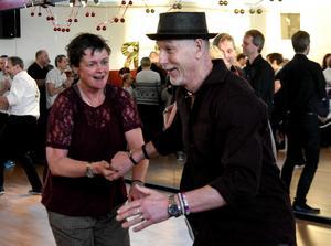 Gun-Britt och Ola Palm från Sundsvall har dansat i ungefär tio år.