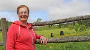 Ann-Therese Kruhsberg kommer ursprungligen från Sandviken och red mycket som barn.