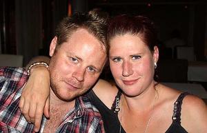 Blue Moon Bar. Henrik och Jenny.