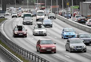 Påsktrafiken kan bli väldigt intensiv. Håll avstånd och kör försiktigt. Undvik att ha en tid då du måste vara framme - låt resan ta den tid det tar. Foto: Anders Wiklund/TT