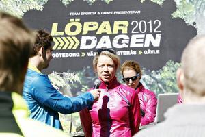 Rickard Olsson intervjuade landslagsåkaren Maria Rydqvist.
