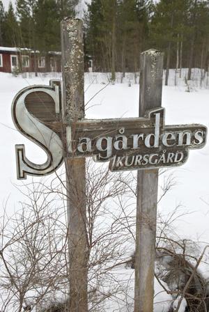 Stagårdens kursgård består av runt 20 byggnader.