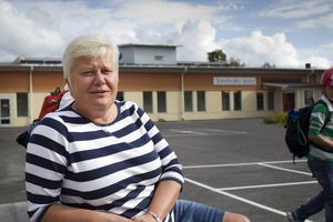 Marianne Andersson, rektor på Sandvalla skola, beklagar att årskurs 6 inte fick betyg i biologi och teknik.