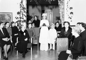 Luciafirande på 1940-talet i Örebro.