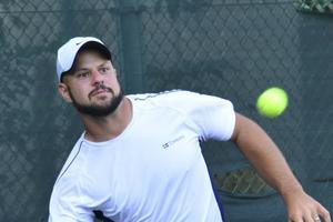 Stefan Olsson är vidare till semifinal i Wimbledon. Foto: Privat