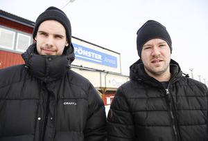 Skarpskjutande toppar i Edsbyn – Mattias Hammarström och Jonas Edling.