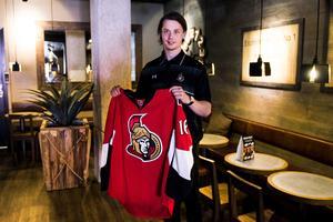 Drömmen om NHL kommer allt närmare för Jonathan Dahlén som nu är draftad av Ottawa Senators.