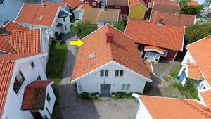 Stuga/hus i Smögen på västkusten.
