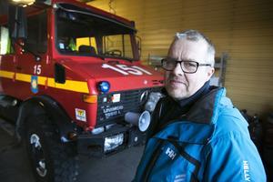 Göran Jonsson deltidsbrandman i Stora Skedvi har sagt upp sig.