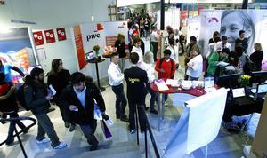 Sundsvalls akademiska arbetsmarknadsmässa, SAAM, hölls i går på Mittuniversitetet för 26:e gången.