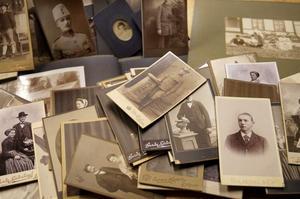 Samlingen med fotografier.