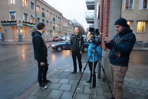 GD live-rapporterade med anledning av den höjda beredskapen. Jonas Harrysson intervjuade kriminalreporter Erik Wikström samt nyhetschef Linda Berglund. Bakom kameran stod Erik Engelro.
