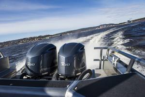 Av motorbåtarna har drygt 90 procent en motor och 6 procent två eller fler motorer.