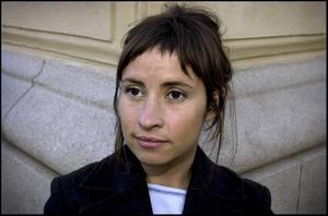Nina Solomin. Arkivbild