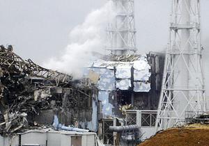 Förödelse. Bilden visar den skadade kärnkraftsreaktorn nr 4 vid Fukushima.