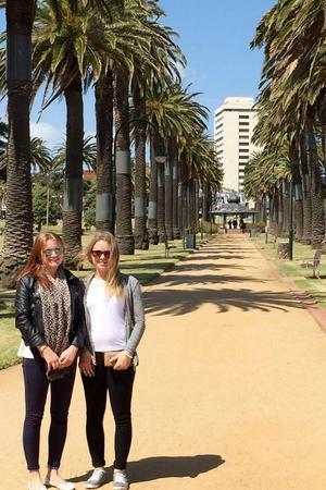 Första dagen vi var ute och kollade runt i Melbourne.