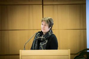 Linnea Stenklyft (S), landstingsstyrelsens vide ordförande.