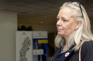 Positiv. Caroline Drabe, Västerås Science Park, tyckte att Stefan Löfven tog upp angelägna frågor i sitt tal.