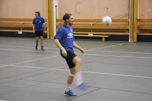 På lördag spelar Söderhamns FF SM-semifinal i futsal. Robert Lundström förbereder sig för den.