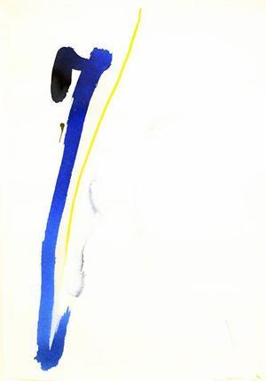 Legenden och förre konstprofessorn Rune Janssons avskalade akvareller ...