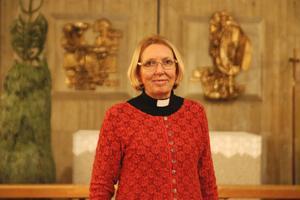 Karin Karlberg är kyrkoherde i Svenska kyrkan i Södertälje.