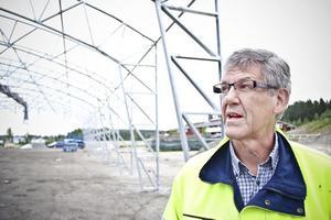 Ridhuset är stormsäkert, intygar kommunens projektledare Sven-Gunnar Johansson.