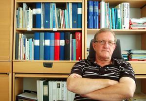 """Tord Sjödin, vd på Strömsunds hyresbostäder, säger till LT att han tror att frågan kommer att lösa sig lugnt och stilla. """"Bollen ligger hos KS Sweden Real Estate"""", säger Sjödin.  Foto: Jonas Ottosson"""