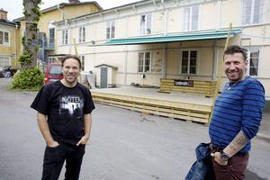 Mattias Kärvemo  till vänster och Stefan