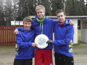 Pehr Eriksson, JonHaglund och Oscar Wåhlén