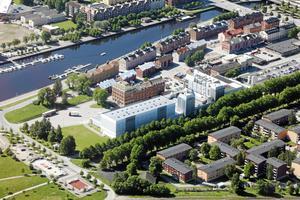 Gångtävlingen genomförs på Norra Skeppsbron. Arkivbild: Lars Halvarsson.