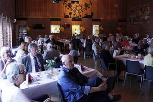 Drygt 100 personer kom för att fira PRO Söderala-Marmas födelsedag.