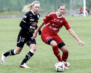 Gabrielle Galvsby höll stilen i Sundsvall.