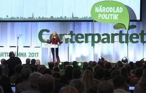Är partierna verkligen mer toppstyrda i dag? Bilden från Centerpartiets stämma.