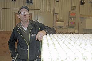 Björn Johansson ger sina äggkunder stort förtroende. Tyvärr är det en del som missbrukar hans tillit.