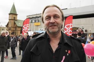 Magnus Nordenwall, Kommunal, huvudtalare på 1 maj i Bollnäs