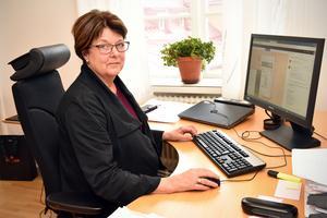 Anna-Lena Hållmats-Bergvik, socialchef, är glad över att man lyckats bryta trenden i Mora.