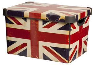 Box. En förvaringslåda i plast från Rusta, längd 39,5 centimeter. Pris: 79 kronor