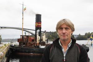 Christer Strandell hoppas kunna använda båten för passagerarturer i framtiden.