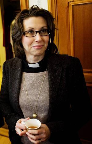 Petra Hamnström är präst i Gustav Adolfs församling i Sundsvall.