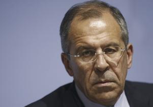 Sergej Lavrov, Rysslands utrikesminister.