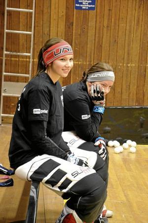 Beröm. Enligt lagets tränare är seriesegern mycket tack vare fint målvaktsspel av Connie Hägerström och Jennifer Tapper.