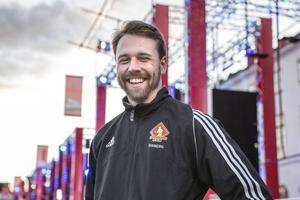 Erik Risberg från Sundsvall deltar i Ninja warriors i Kanal 5, som startar på torsdagskvällen.