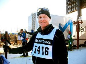 Femte året i rad var det för Thomas Eriksson, 49,  från Gävle.– En jättefin dag i spåret, konstaterade han.