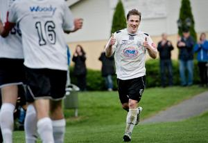 Per-Åke Åström har gjort åtta mål för Yxhult. Blir det några fler i höst?