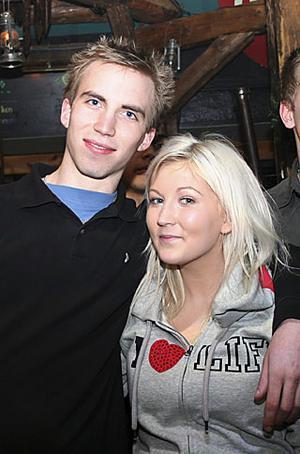 Konrad. Hampus och Mikaela