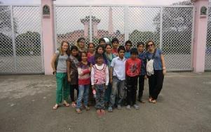Barnhemmet håller till i Kathmandu i Nepal. Det bor totalt tio barn på hemmet. Foto: Johnny Fredborg