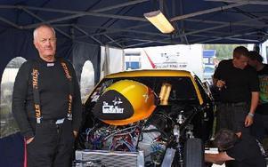Rolf Simonsson från Mora tävlade med sinCamaro -67:a. Foto: Theres Johansson/DT